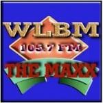 Logo da emissora Radio WLBM 105.7 FM