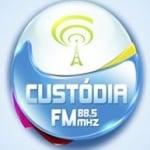 Logo da emissora Rádio Custódia 88.5 FM