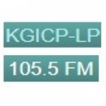 Logo da emissora Radio KGIC 105.5 FM