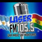Logo da emissora Radio Laser 105.5 FM