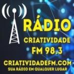 Logo da emissora Rádio Criatividade FM