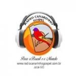 Logo da emissora Rádio Canarinho Gospel