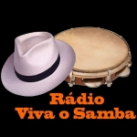 Logo da emissora Rádio Viva o Samba