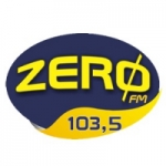 Logo da emissora Rádio Zero 103.5 FM