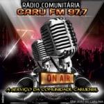 Logo da emissora Rádio Caru FM