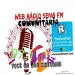 Logo da emissora Web Rádio Sena FM