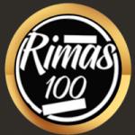 Logo da emissora Rádio Rimas 100
