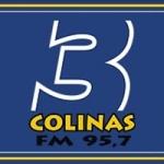 Logo da emissora Rádio 3 Colinas 95.7 FM