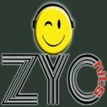 Logo da emissora Rádio ZYC HITS