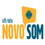 Logo da emissora Info Rádio Novo Som