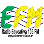Logo da emissora Rádio Educativa 105.1 FM