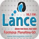 Logo da emissora Rádio Lance 98.1 FM