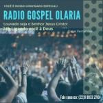 Logo da emissora Rádio Gospel Olaria