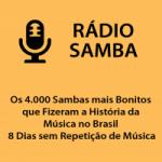 Logo da emissora Rádio Samba