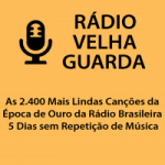 Logo da emissora Rádio Velha Guarda