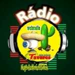 Logo da emissora Webrádio Tavares