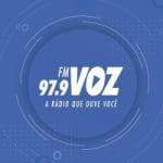 Logo da emissora Rádio Voz 97.9 FM