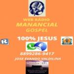Logo da emissora Web Rádio Manancial Gospel
