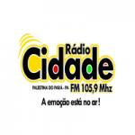 Logo da emissora Rádio Cidade Palestina