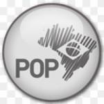 Logo da emissora Rádio Jovem Pan Web Pop Brasil