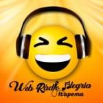 Logo da emissora Web Rádio Alegria