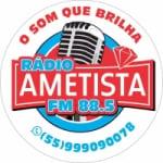 Logo da emissora Rádio Ametista 88.5 FM