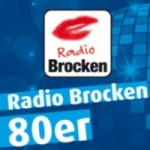 Logo da emissora Radio Brocken 80er