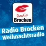 Logo da emissora Radio Brocken Weihnachts