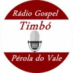 Logo da emissora Rádio Gospel Timbó Pérola do Vale
