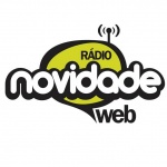 Logo da emissora Rádio Novidade Web