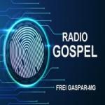 Logo da emissora Rádio Gospel Frei Gaspar