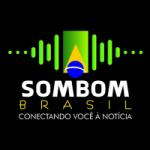 Logo da emissora Rádio Sombom Brasil