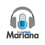 Logo da emissora Rádio Mariana FM