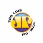 Logo da emissora Rádio Jovempan 102.5 FM