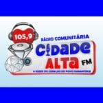 Logo da emissora Rádio Cidade Alta 105.9 FM