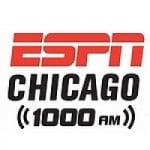 Logo da emissora Radio WMVP ESPN 1000 AM