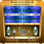 Logo da emissora Rádio Master Vision Anos 80