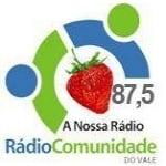 Logo da emissora Rádio Comunidade do Vale 87.5 FM