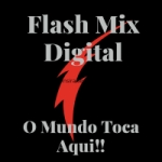 Logo da emissora Rádio Flash Mix Digital