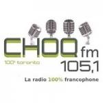 Logo da emissora Radio CHOQ 105.1 FM
