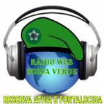 Logo da emissora Rádio Boina Verde