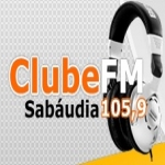 Logo da emissora Rádio Clube 105.9 FM