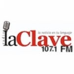 Logo da emissora Radio La Clave 107.1 FM
