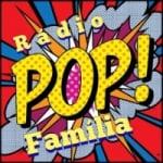 Logo da emissora Rádio Pop Família (Gospel)