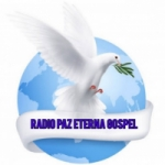 Logo da emissora Rádio Paz Eterna Gospel