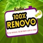 Logo da emissora Rádio 100% Renovo FM