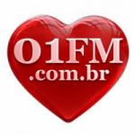 Logo da emissora Rádio 01 FM