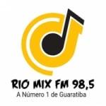 Logo da emissora Rádio Rio Mix FM