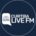 Logo da emissora Rádio Curitiba Live FM