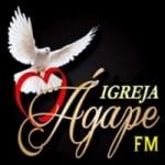 Logo da emissora Rádio Igreja Ágape FM